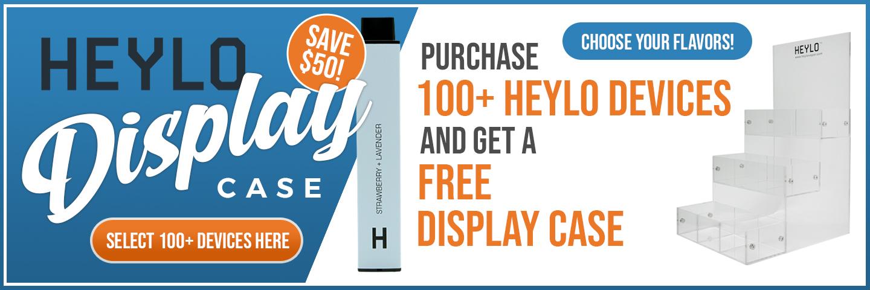 HEYLO Display Case